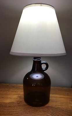 Lamp Light Little Brown Jug Glass