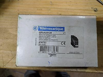 Safety Relay XPSAX5120 Telemecanique 24VAC/DC 076723