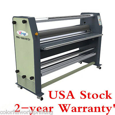 """USA Stock! Ving 63"""" New Type Full - auto Wide Format Hot / Cold Laminator Machie"""