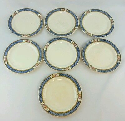 7 Edward M Knowles China Hostess Bread & Butter Plates