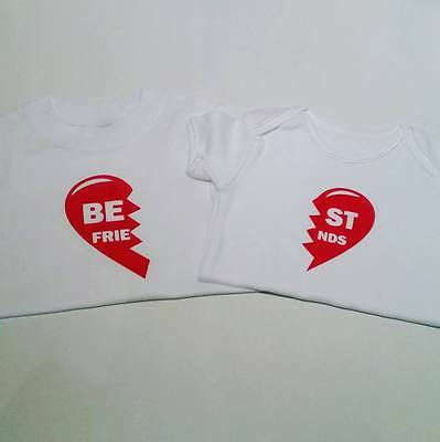 Best Friends T-Shirt / Baby vests - Many sizes available