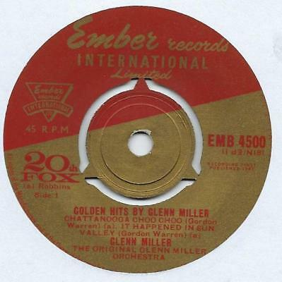 "Glenn Miller - Golden Hits - 7"" Single"