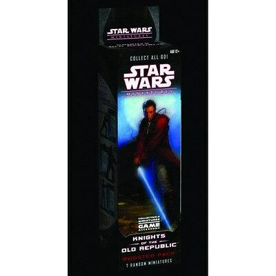 Star Wars Collectable Miniatures Game Knights Of The Old Republic Booster Pack