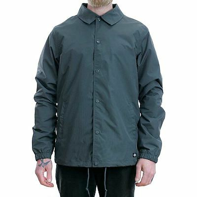 Dickies Work Wear Skate Torrance Coach Jacket Coat Grey New Free Delivery