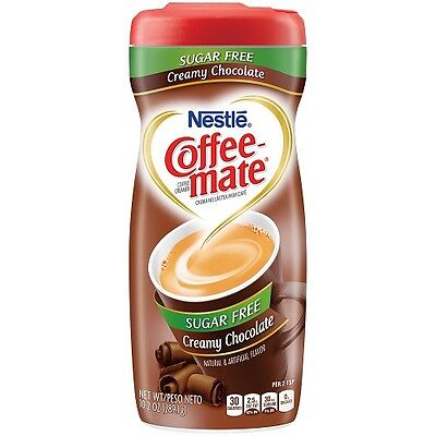 COFFEE MATE SUGAR FREE CREAMY CHOCOLATE Creamer 289g COFFEE-MATE Powder Nestle