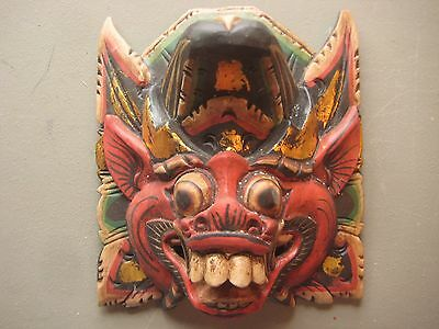 Large Ceremonial Mask .... Hand Carved & Painted, #co-012