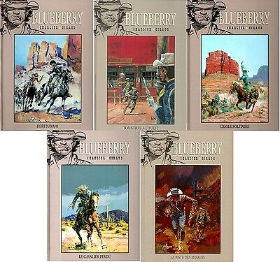 Lot Blueberry Récit complet Cycle originaire Les guerres apaches Giraud Charlier