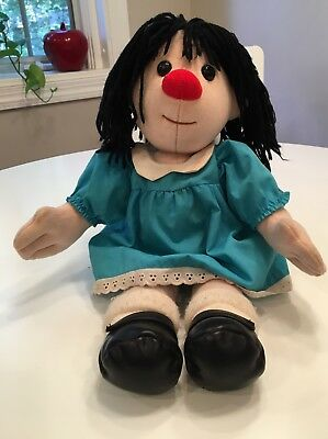 """The Big Comfy Couch Vintage Molly Doll 18"""""""