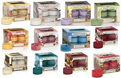 Yankee Candle  Tea Lights Box of 12 - CLEARANCE SALE