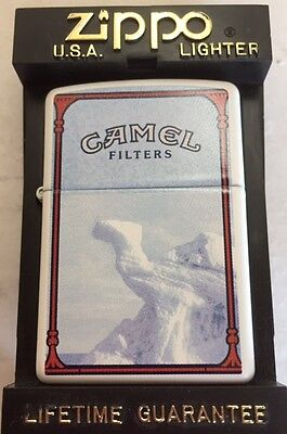 "Camel  "" IN ICE ""  Post Card Series 1 Zippo Lighter"