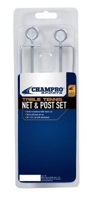 Champro Table Tennis Post or Tie On Net Set. Free Shipping
