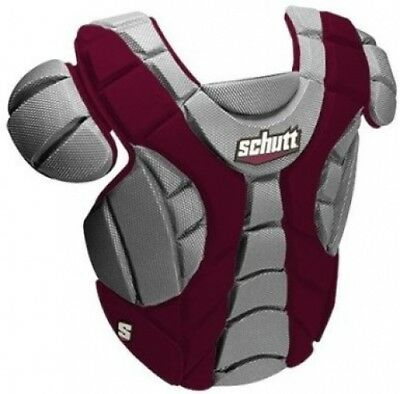 Schutt Sports Scorpion Chest Protector for Softball, Maroon, 30.5cm. Shipping is