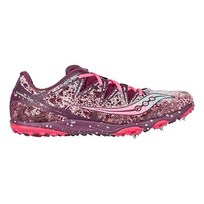 (9 B(M) US, Teal/vizi Coral) - Saucony Women's Carrera XC Cross-Country Shoe. Fr
