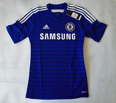 Adidas 2014-15 Official Chelsea Home Soccer Jersey