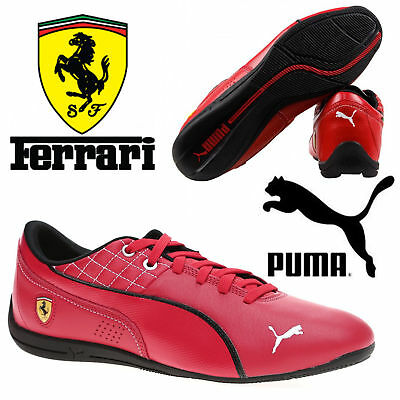 New Puma Drift Cat Flash Ferrari Mens Motorsports Casual Red Trainer Shoes  £85 41d48c05c