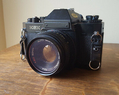 SEARS KSX 35mm SLR camera with 50mm lens Not Tested