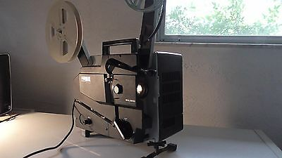 ELMO 16-CL Channel Loading 16mm Sound Projector w/Reel/Lamps/Rollers Needed-Deal