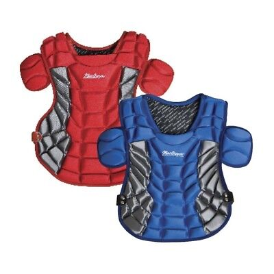 (Scarlet) - MacGregor B80 Women's Softball Catcher Protector. Delivery is Free