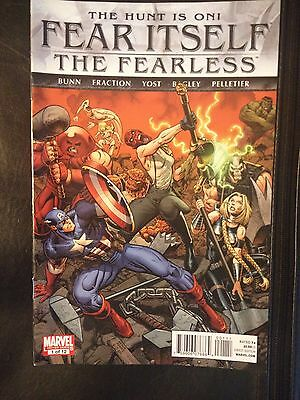 The Hunt Is On - Fear Itself - The Fearless - Marvel - 1 of 2