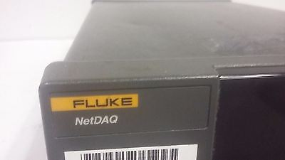 Fluke 2640A/41A NetDAQ Data Logger Acquisition Unit Networked