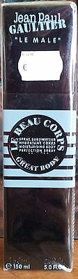 Le Male Jean Paul Gaultier for men LE BEAU CORPS SPRAY SUBLIMATEUR HYDRATANT,