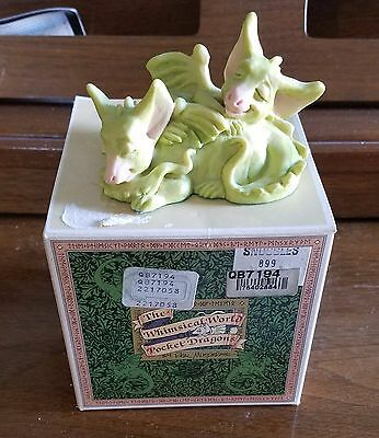 Whimsical World of Pocket Dragons Snuggles Excellent Condition with original box