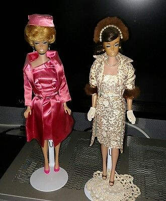 VINTAGE 1960's BARBIE DOLLS WITH ORIGINAL CLOTHES ( LOT OF 2)