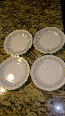 Radisson W.S. George 6 Inch Bread And Butter Plates Set of 4