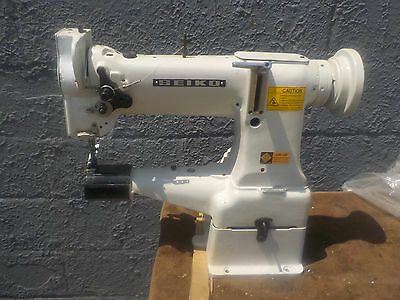 Industrial Sewing Machine Seiko CW- 8B walking foot ,cylinder,reverse- Leather