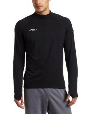 (XX-Small, Navy) - Asics Men's Team Thermo LT 1/2 Zip. Shipping is Free