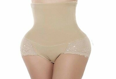 (Medium, Beige(2-3 Days Delivery)) - Butt Lifter Highwaisted Panty Enhancer Tumm