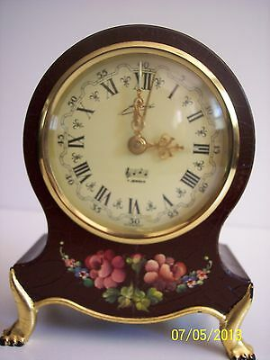 German Wind Up Clock from 1950's