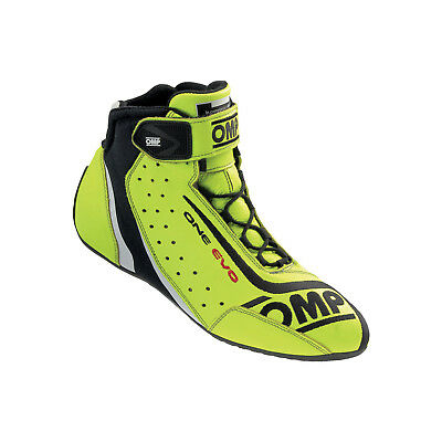 Neu Schuhe OMP ONE EVO Gelb (Homologation FIA) (42 (8 UK) (8,5 US))