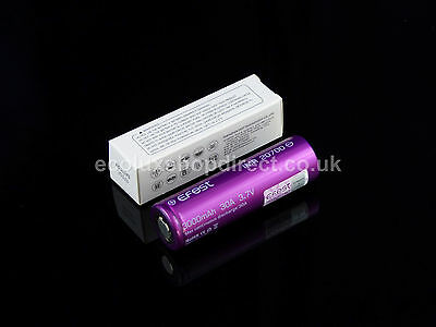 Genuine EFEST 20700 3000mAh 30A IMR High Drain 3.7v Rechargeable Battery UK
