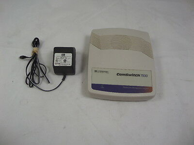 Command Communications ComSwitch 7500 Phone/Fax/Modem Switch +  Power Adapter