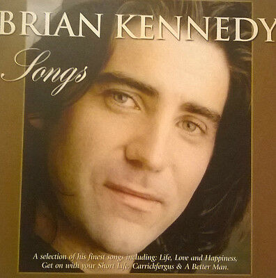 Brian Kennedy  * Songs *  Rare 10 Track Irish Promo Cd Card Case U2