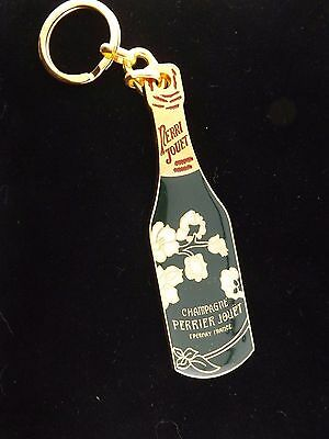 Rare Perri Jouet Champagne Perrier Jouet Key Chain 150th Anniversary 1837 - 1987