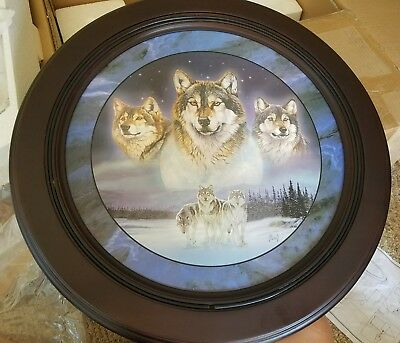 al gnew wolf Beautiful decorative wall table brand new in the box