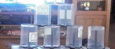 1 Lot 31 Empty Spindle Cake Boxes Holds 100 CD or DVD per Spindle