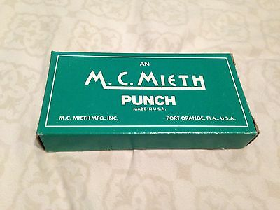 M.C. Mieth Hole Punch - Vintage, industrial, ticketing and railroads #402