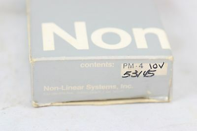 NLS Non-Linear Systems PM-4 Digital Voltmeter 4 1/2 Digits Display NOS 10 Volt