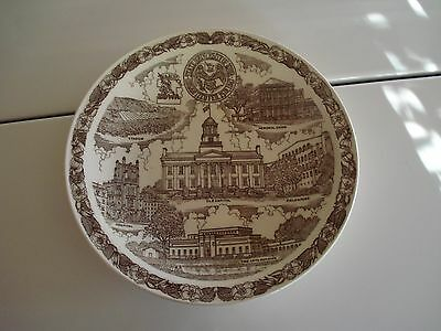 Vintage Vernon Kilns University of Iowa Collectors Plate