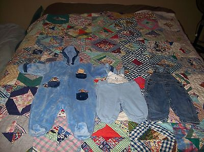 Mixed Lot Assorted (3) Name Brand Boy's/girl's (6-9M) #m29 Great Buy!