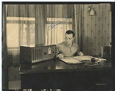 """BUSTER KEATON Hand Signed Autographed 8x10"""" Photo w/COA - THE GENERAL"""