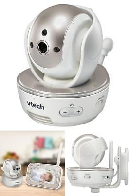 VTech VM305 Safe & Sound DECT 6.0 Baby Monitor Video Camera Full Color Pan Tilt