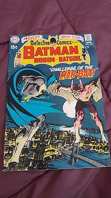 Detective Comics 400 - the first appearance of Man-Bat