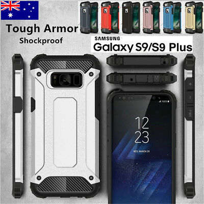 Tough Armor Rugged Case Heavy Duty Shockproof Cover for Samsung S9 8plus S7Edge
