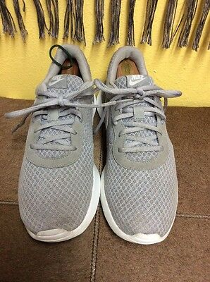 Nike Tanjun Wolf Grey White Men's Running Shoes Size 9