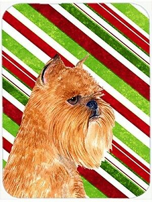 (Candy Cane) - Caroline's Treasures SS4563LCB Brussels Griffon Candy Cane
