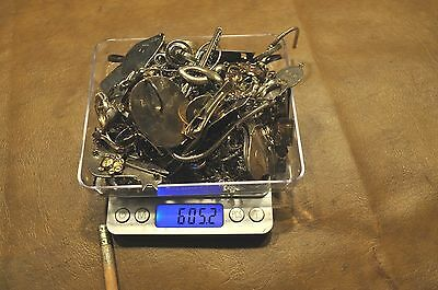 925 Sterling Silver Jewelry Scrap Lot Some Usable 605 Grams